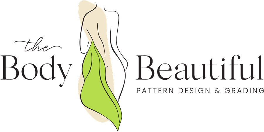 Body Beautiful Pattern Design Logo